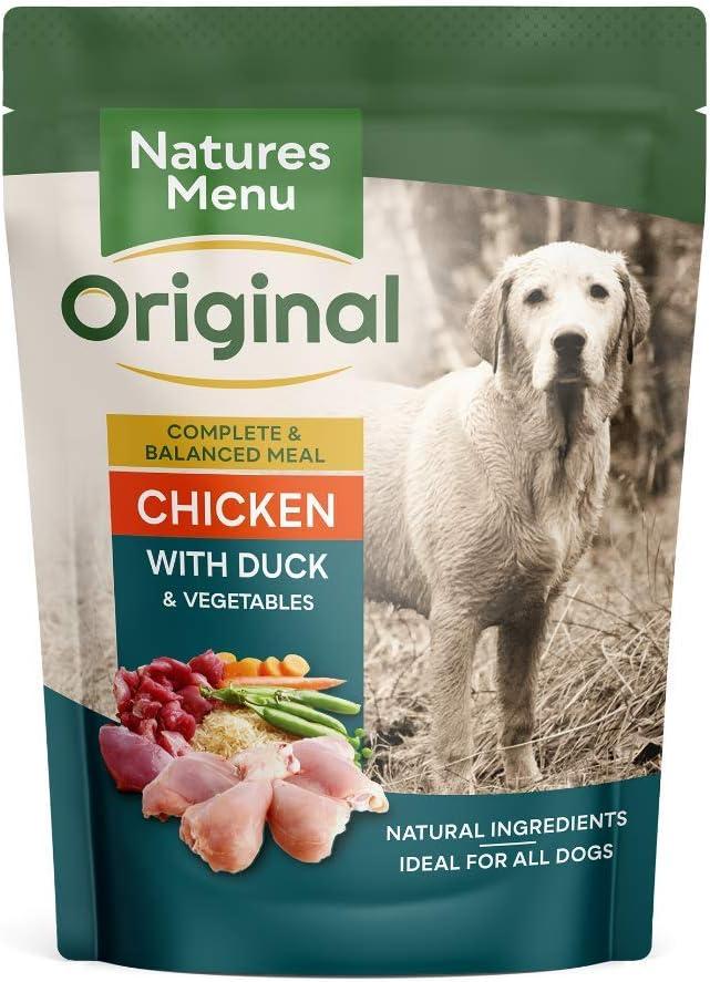 Natures Menu Dog Food Pouch Chicken & Duck (8 x 300g)