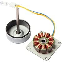 CrocSee Micro 3 Phase AC Mini Hand Brushless Motor Generator Model Experiment Teaching Aid