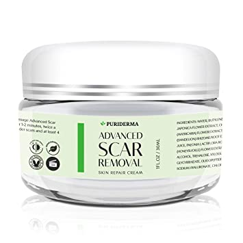 Buy Puriderma Scar Removal Cream Advanced Treatment For Face Body Old New Scars From Cuts Stretch Marks C