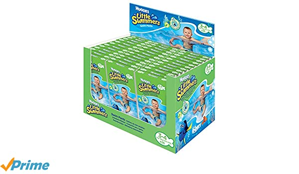 HUGGIES Little Swimmers desechables Bombón nadar, tamaño 3 - 4, 36 unidades): Amazon.es: Salud y cuidado personal