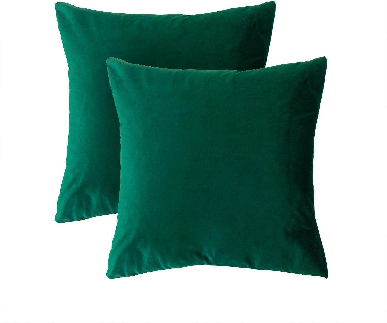 12 x 20 Inch Decorative Square Throw Pillow Case for Sofa Car Dark Blue Bedroom BGment Soft Velvet Cushion Cover Living Room