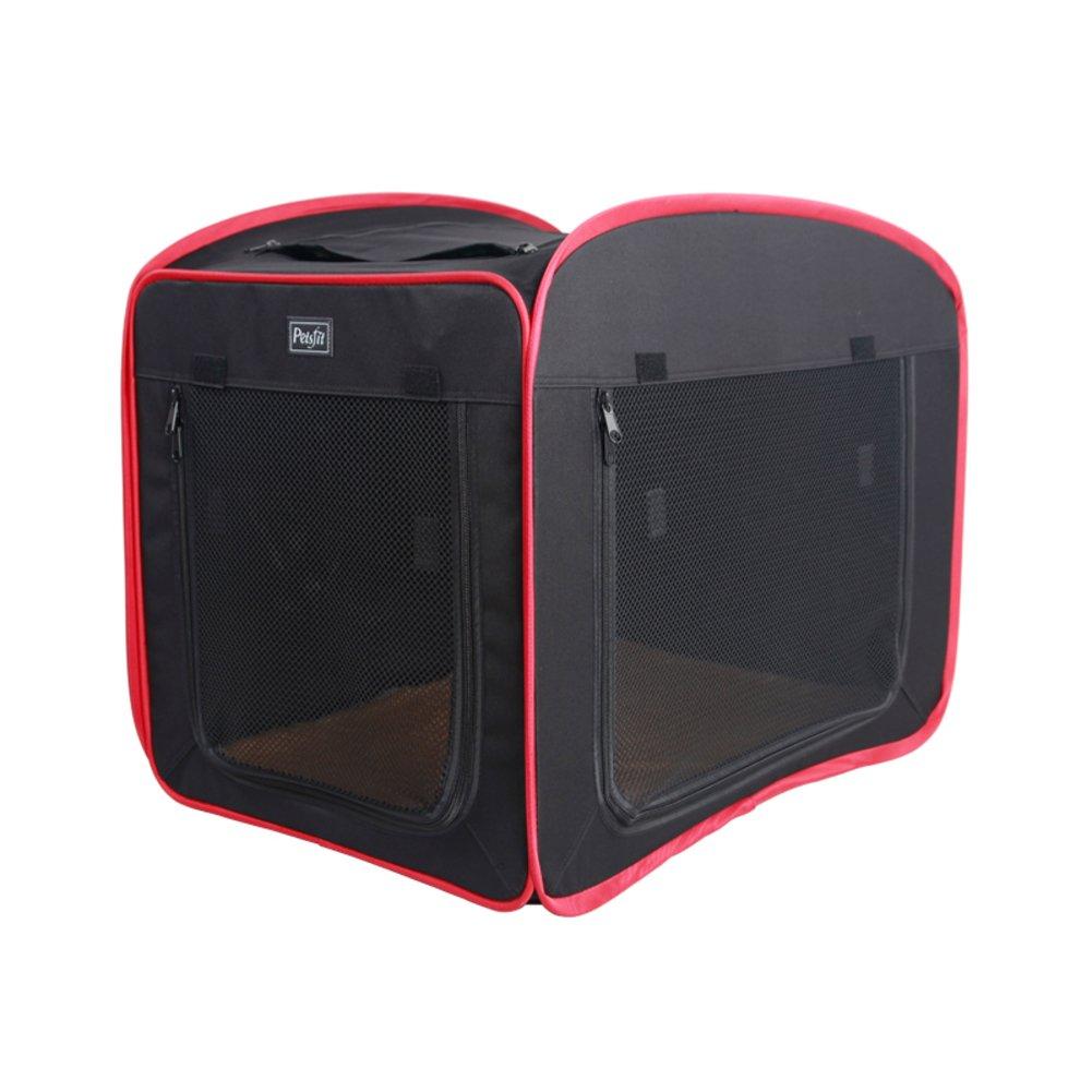 犬のテント,オックスフォード布犬小屋猫トイレ使用可能な四季猫と犬の供給ペット犬クレート ペット ベビー サークル背の高い犬ベビー サークル-ブラック 80x52x55cm(31x20x22inch) B07D1MLLF3 11375 80x52x55cm(31x20x22inch)|ブラック ブラック 80x52x55cm(31x20x22inch)