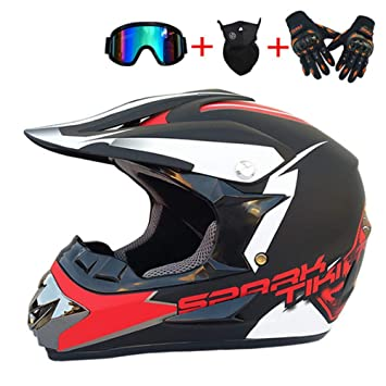 Amazon.es: DTTN Casco de la motocicleta, seguridad de conducción Off ...