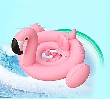 Bebé de natación Ring inflable asiento Dount Flamingo Cisne flotador piscina bebé agua de verano divertido