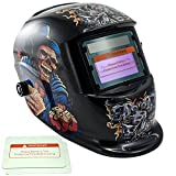 iMeshbean Professional Cool Solar Auto-Darkening Welding & Grinding Helmet + 2 pcs Extra Lens Covers ANSI Certified Model#1032 USA