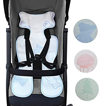 Baby Stroller//Car High Chair Seat Cushion Liner Mat Pad Cover Protector Breath