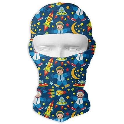 Xukmefat Motocicleta al Aire Libre Máscara Facial Azul ...