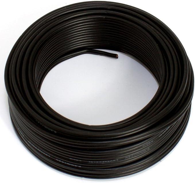 Lautsprecherkabel schwarz 2X 0,50mm/² 100M Spule