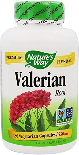 Natures Way, Valerian Root 530Mg, 180 Count