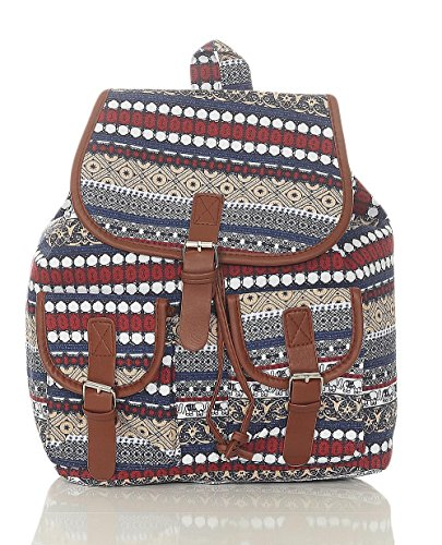 Malito Women Bag Backpack Many Fashionable Colors Beige Patterns Portfolio R800 2175