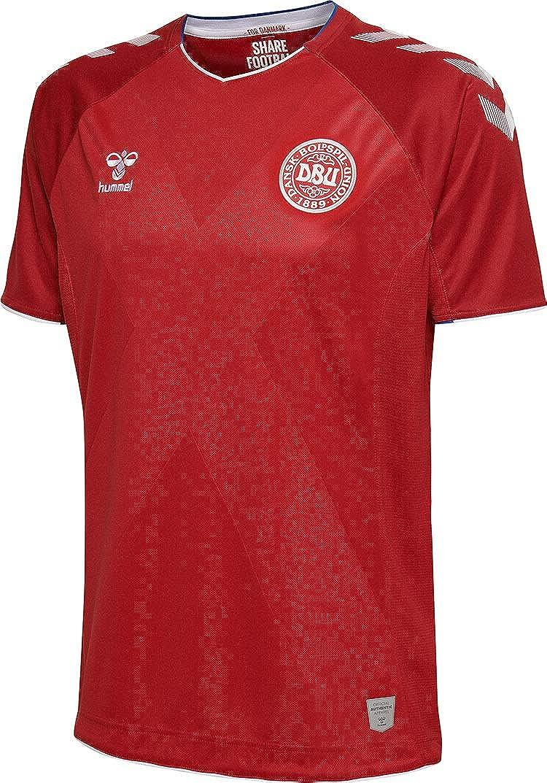 Hummel Sport Hummel Danish National Soccer Team Short Sleeve Home Jersey
