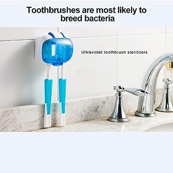 kokoni Mini limpiador de cepillo de dientes, pequeños (UV) ultravioleta luz Uv cepillo