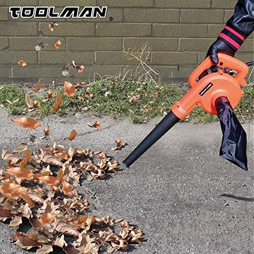 2 in Corded Leaf Blower Heavy 6 Speed 1200W
