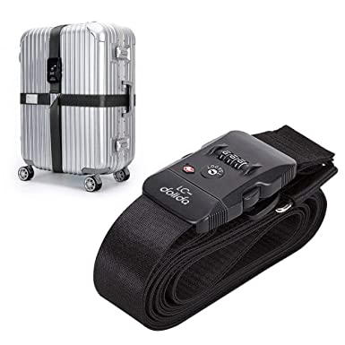 Amazon.com: Add-A-Bag equipaje Correa, lc-dolida correas ...