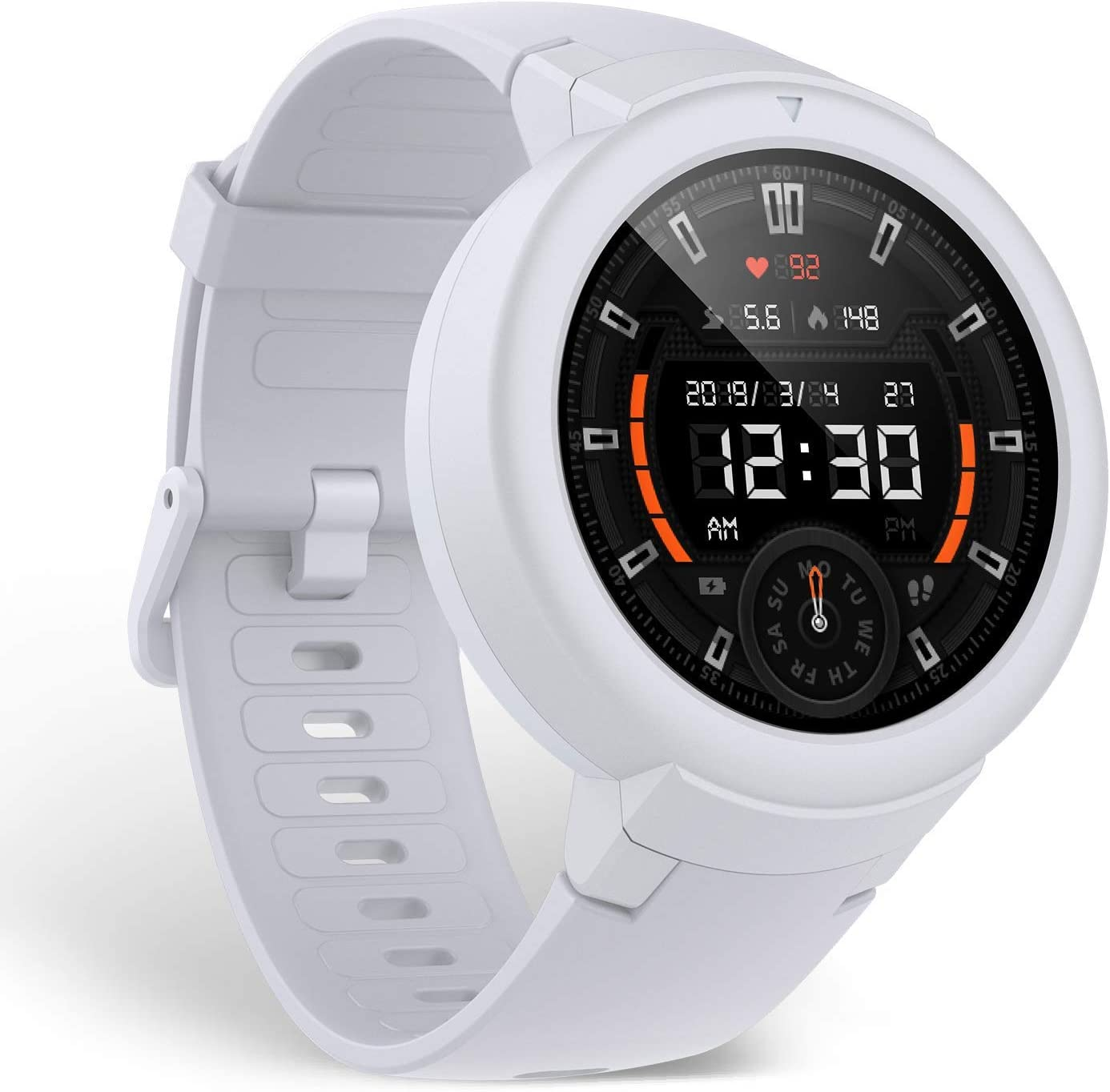 Amazfit Verge Lite Smartwatch, Fitness Tracker,Long Battery Life (White)