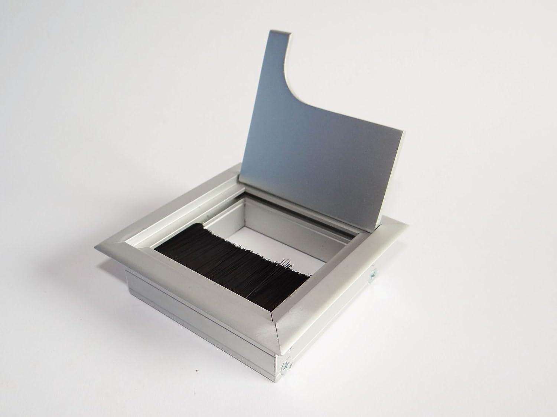 Urceri Laser Entfernungsmesser : So tech® kabeldurchführung kabeldurchlass eckig aus aluminium silber