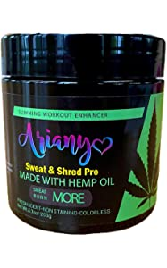 Ariany Hot Gel – Sweat Cream Workout Enhancer Belly Slimming Gel For Men and Women to Sweat More at Cardio & Gym (6.7 oz)