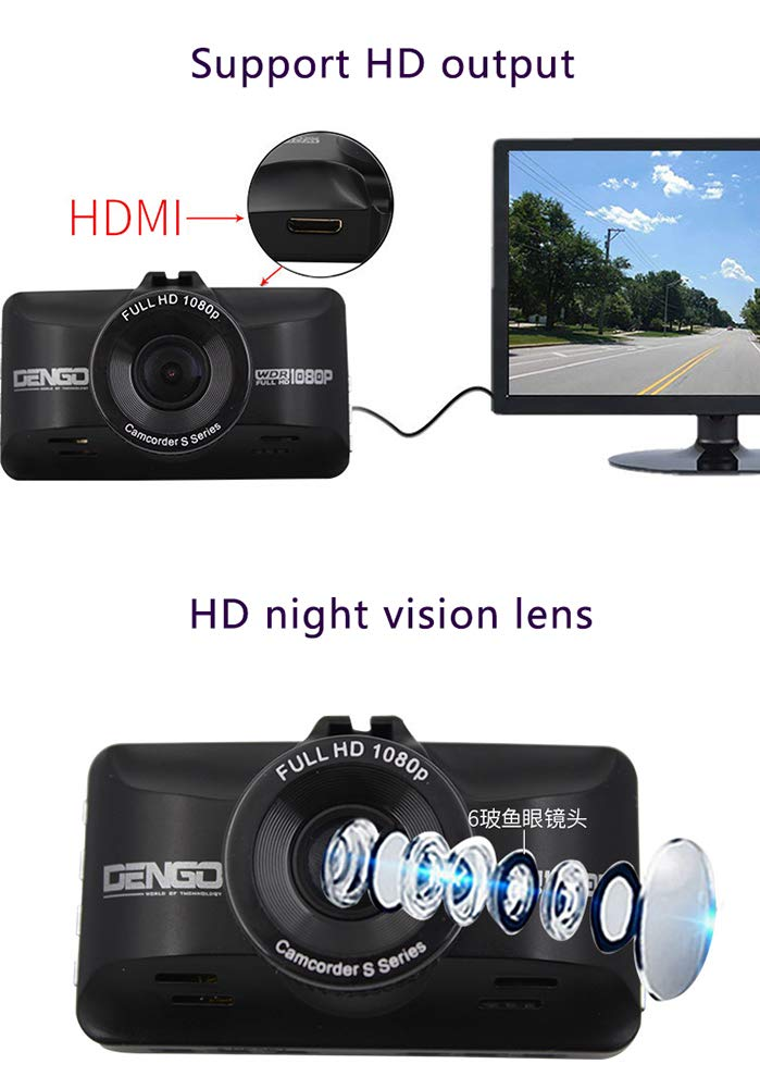 ZYWX-Full-HD-1080P-Car-Video-Recorder-170-Wide-Angle-Loop-Recording-Gravity-Sensing-G-Sensor-Night-Vision