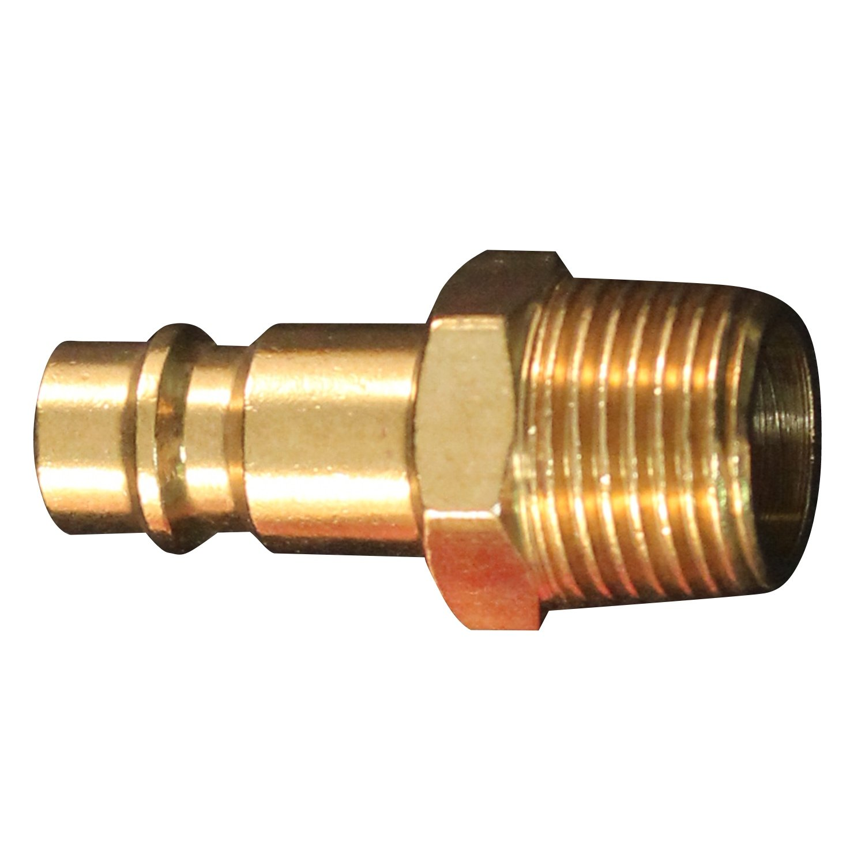 Milton 762 3/8 MNPT V Style High Flow Plug - Box of 10 Milton Industries