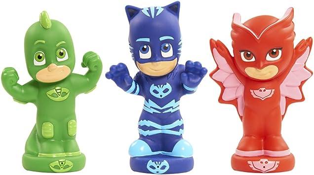 PJ Masks Juguetes de baño (Bandai 24610): Amazon.es: Juguetes y juegos