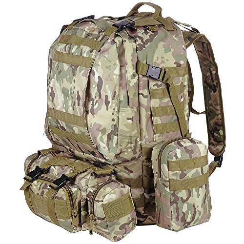 AW Camouflage 23x19x5 5 Backpack Military