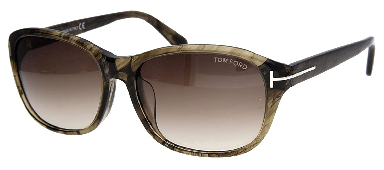ce3eef91e7c Tom Ford Woman Sunglasses London Grey FT0396-F-6050K  Amazon.co.uk  Clothing