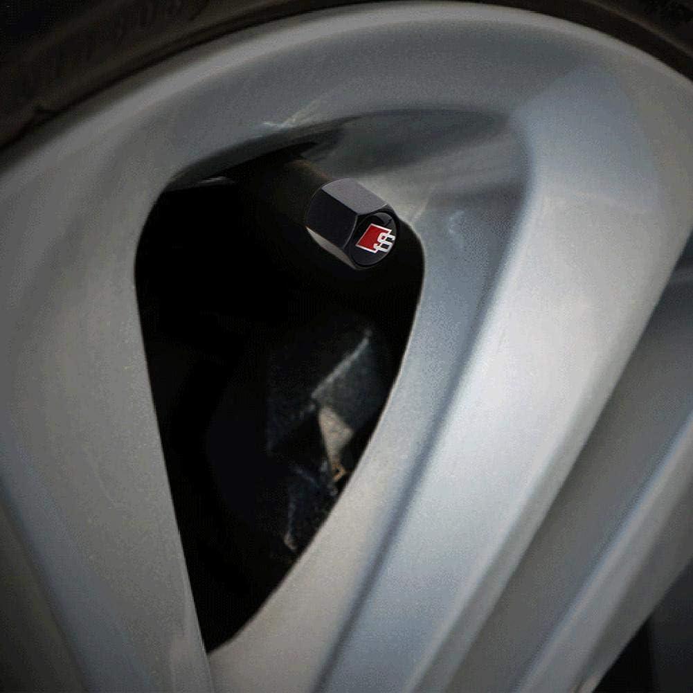 Pneus de roue de style de voiture Bouchons anti-poussi/ère Bouchons de tige de moto automatiques Forme de fus/ée #Pennytupu