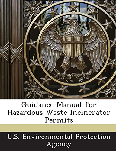 Books : Guidance Manual for Hazardous Waste Incinerator Permits