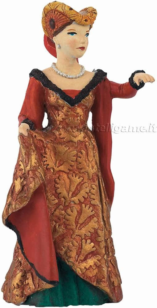 Red Toy Figurine 39392 New Papo Medieval Fair Lady