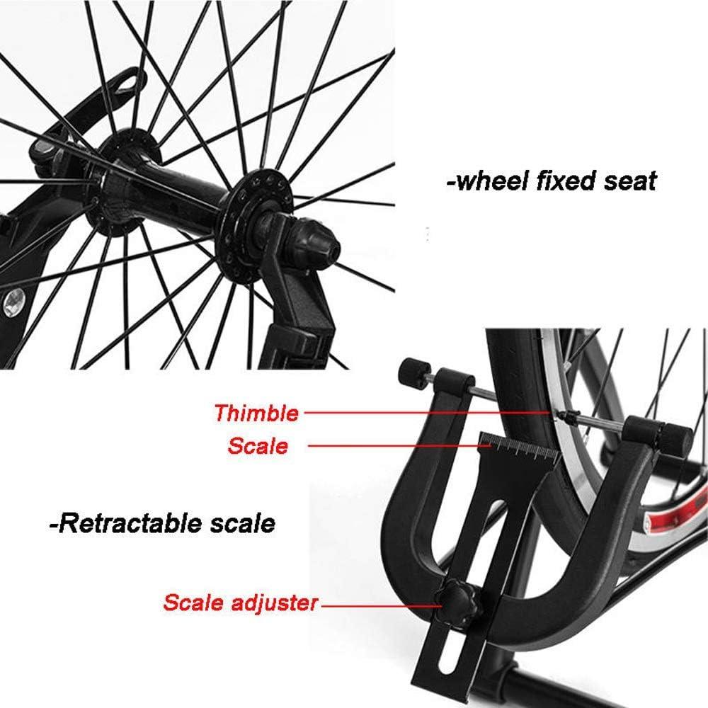 Anclaje para bicicletas Rueda de bicicleta de centrado del soporte de la bici del camino de la rueda de centrado soporte for bicicletas mantenimiento de la rueda del ...