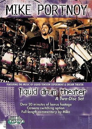 Amazon Mike Portnoy Liquid Drum Theater Dvd 2 Disc Set