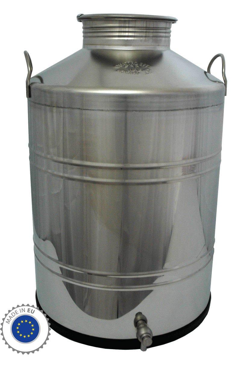 Jarra térmica de acero inoxidable para alimentos 100 L ...