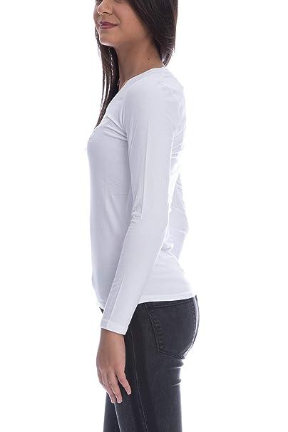 GUESS Camiseta W84I99 K7WC0 TWHT XS Blanco