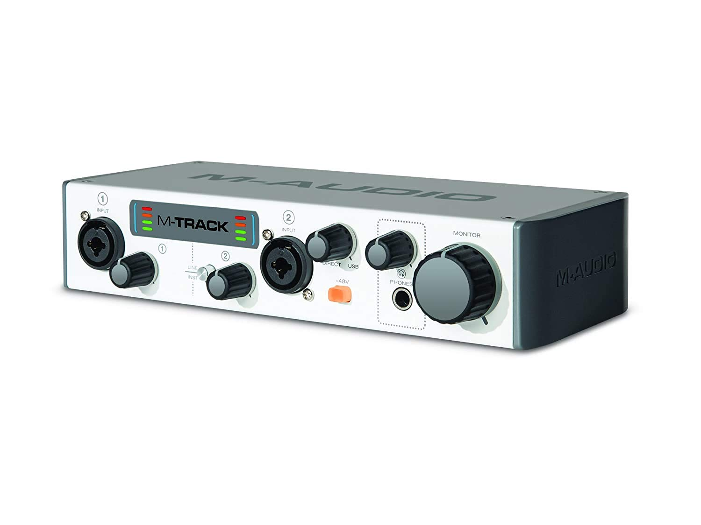 (Renewed) M-Audio M-Track II USB Audio Interface