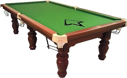 6 pcs Magic Rack Black Triple-cornered Pool 8.9 and 10 Ball Accessories SODIAL R