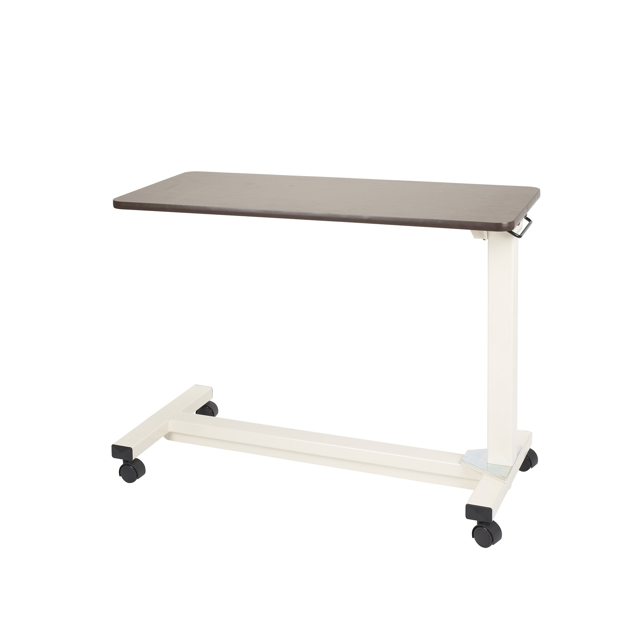 Drive Medical Bariatric Heavy Duty Overbed Table, Oak, 18'' x 40''