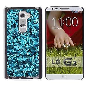 For LG G2 / D800 / D802 / D802TA / D803 / VS980 / LS980 Case , Sparkly Water Bubbles Abstract Light - Diseño Patrón Teléfono Caso Cubierta Case Bumper Duro Protección Case Cover Funda