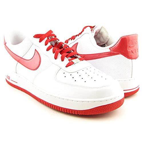 buy popular 4fa7d c7370 Amazon.com | NIKE AIR FORCE 1 07 MENS 315122-149 (11, WHITE/OBSIDIAN ...