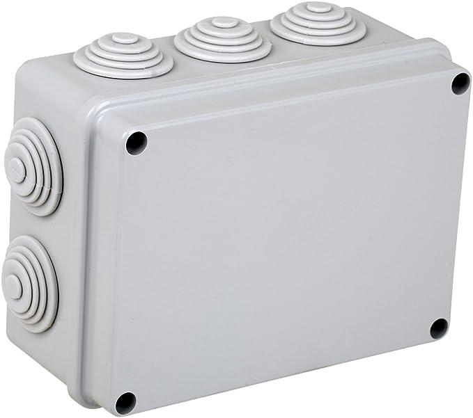 Electraline 60556 - Caja de derivación de superficie (190 x 140 mm ...