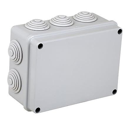 Electraline 60556 - Caja de derivación de superficie (190 x 140 mm)