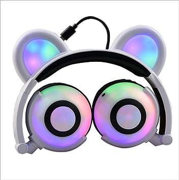 Auriculares de oso de dibujos animados para niños: Amazon.es: Electrónica
