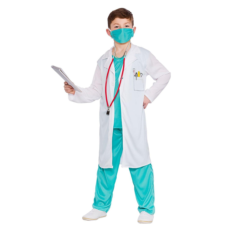 Hospital Doctor - Unisex Kids Costume 3 - 4 years Amazon.co.uk Clothing  sc 1 st  Amazon UK & Hospital Doctor - Unisex Kids Costume 3 - 4 years: Amazon.co.uk ...