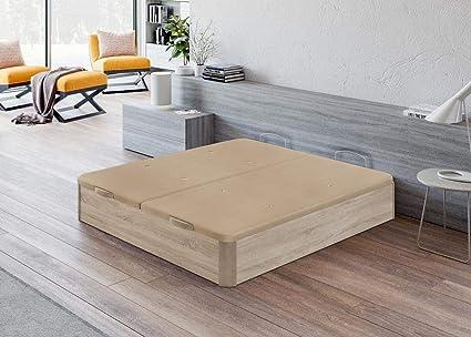 Santino Canapé Abatible Wooden Gran Capacidad Cambrian 180x200 cm con Montaje a Domicilio Gratis