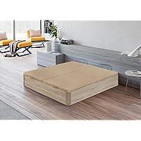 Santino Canapé Abatible Wooden Gran Capacidad Cambrian 90x190 cm con Montaje…