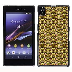 ZECASE Funda Carcasa Tapa Case Cover Para Sony Xperia Z1 L39H No.0004605
