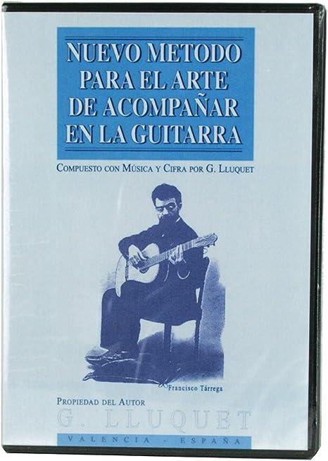 G.Lluquet 8B12D - DVD de guitarra (complemento del metodo guitarra ...