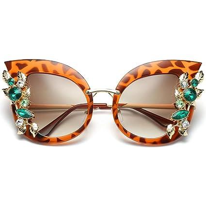 32bed13f107 Amazon.com  Kanzd Womens Fashion Artificial Retro Diamond Cat Ear ...