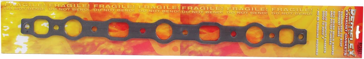 Remflex 2027 Exhaust Gasket for Chevy L6 Engine