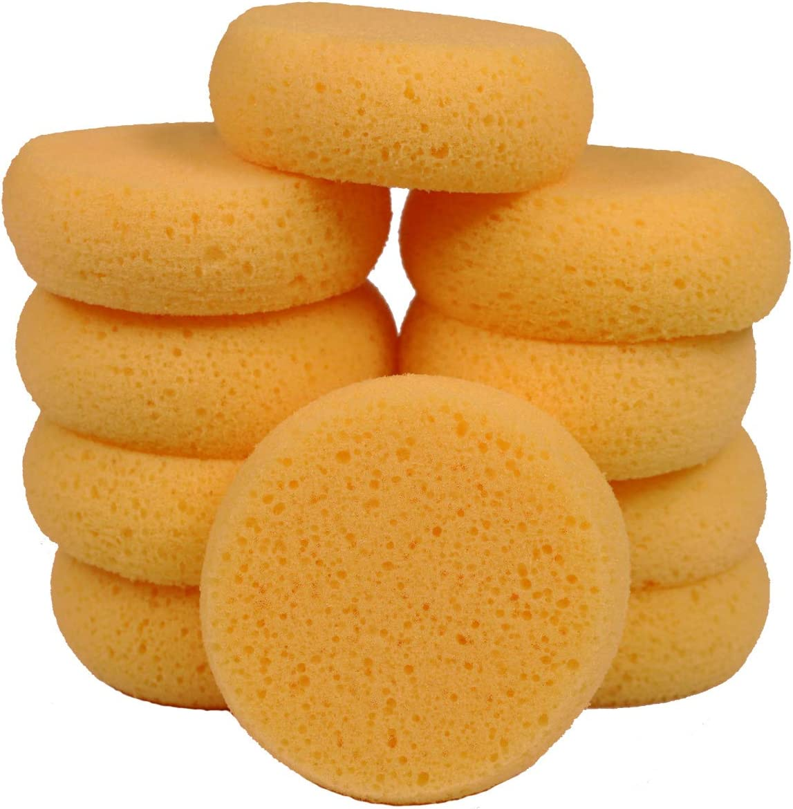 Value Pack of 7 Sponges Crafts Ceramics Pottery and More Creative Hobbies Synthetic and Natural Silk Sponges for Painting