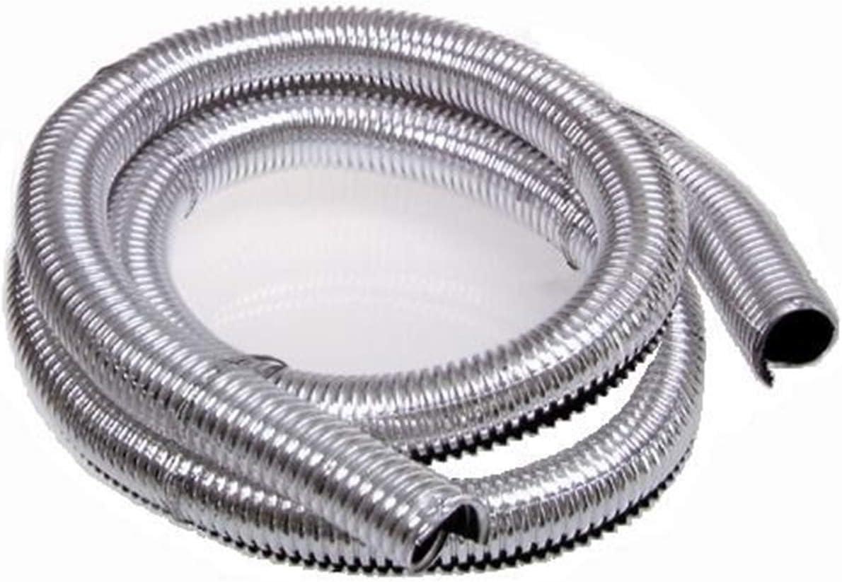 Taylor Cable 39000 ShoTuff Chrome Convoluted Tubing Kit